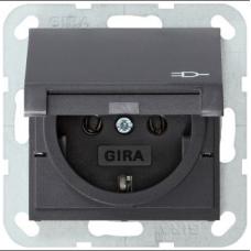 Gira System55 lid socket anthracite