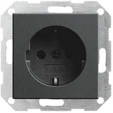 Gira System55 dugaszoló aljzat antracit