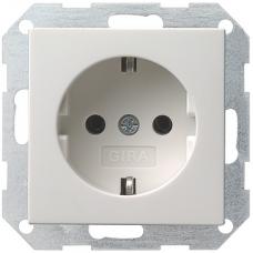 Gira System55 dugaszoló aljzat matt fehér