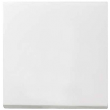 Gira System55 pushx1 cover - white