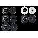 Loxone csőmotor adapter, 63mm, kerek