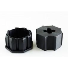 Loxone csőmotor adapter, 60mm, nyolcszögletű