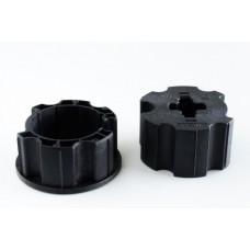 Loxone csőmotor adapter, 70mm, kerek