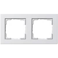 Gira E2x2 frame white