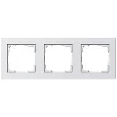 Gira E2x3 frame white