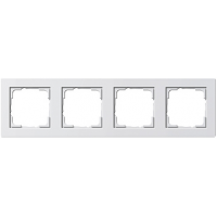 Gira E2x4 frame white