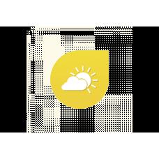 Loxone időjárás szolgáltatás, 1 éves
