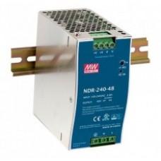 Mean Well tápegység NDR-240-24 240W/24V/0-10A
