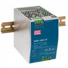 Mean Well tápegység NDR-480-24 480W/24V/0-20A